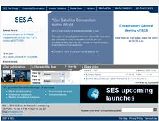 SES-Global website